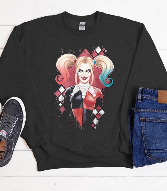 Harley Quinn Cute Cool Trending Sweatshirt