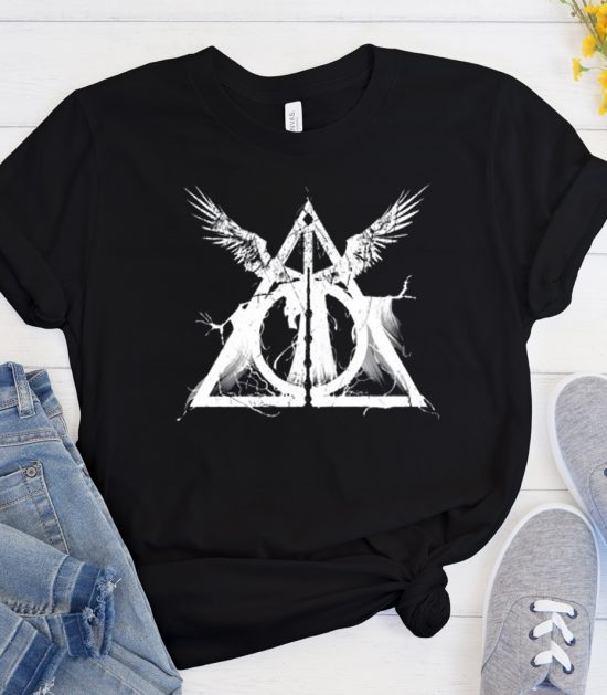 Harry Potter Deathly Hallows Cool Trending T Shirt
