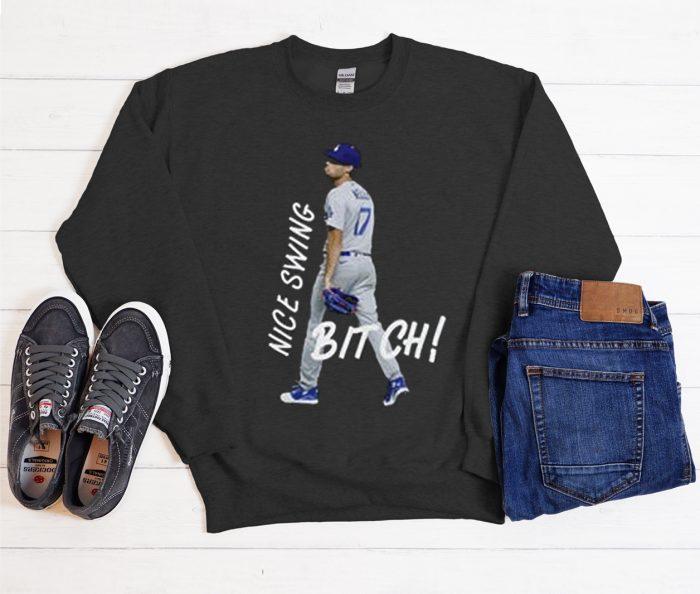 Joe Kelly - Nice Swing Bitch Funny Cool Trending Sweatshirt
