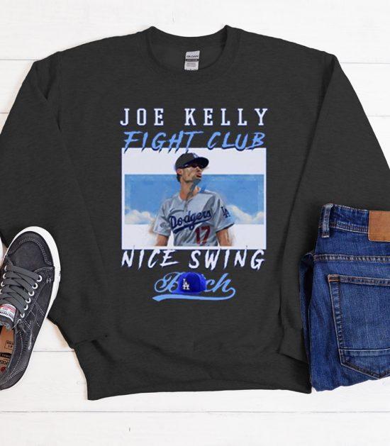 Joe kelly fight club nice swing Cool Trending Sweatshirt