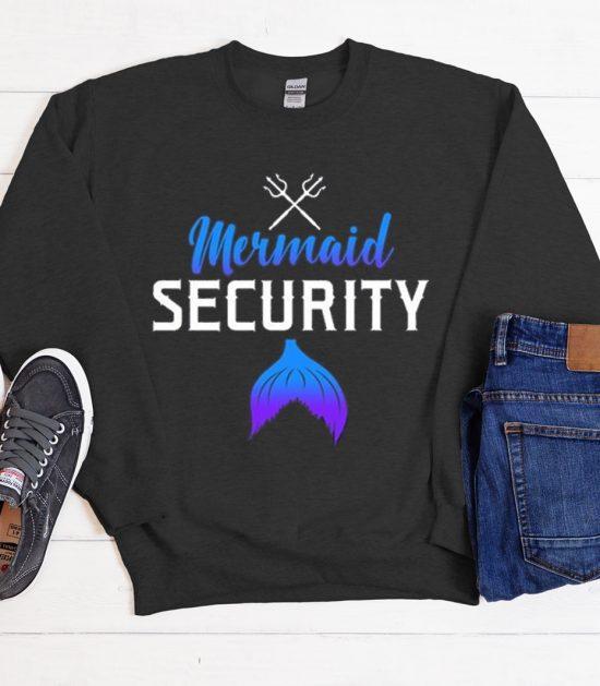 Mermaid Security - Beach Party Cool Trending Sweatshirt