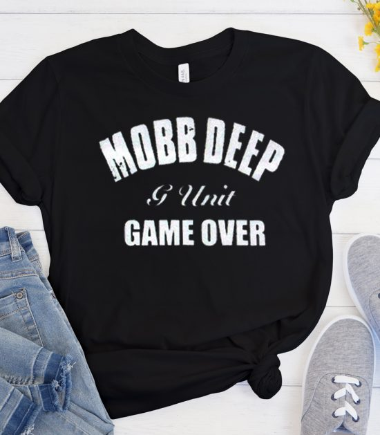 Mobb Deep G-Unit Game Over Black Logo Cool Trending T Shirt