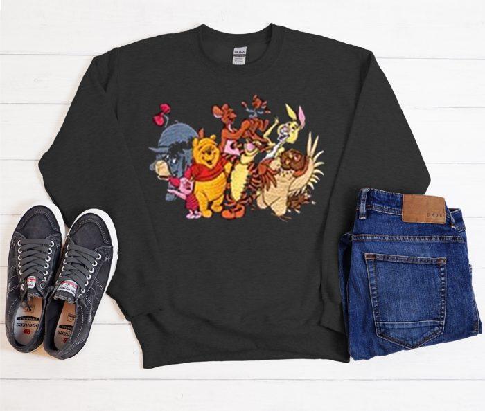 Vintage Outfits Winnie the Pooh Cool Trending Sweatshirt