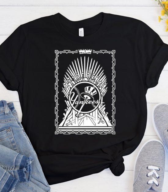 Yankees Game Of Thrones Cool Trending T Shirt