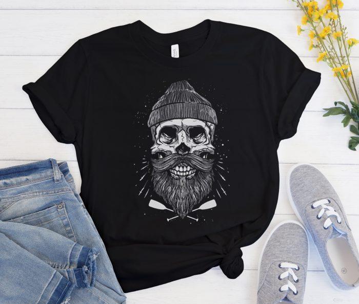 Bearded Bone Sailor Comedy Cool Trending graphic T Shirt
