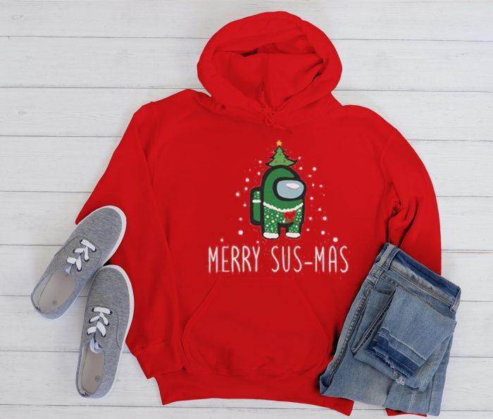 Christmas Among US Cool Trending graphic Hoodie