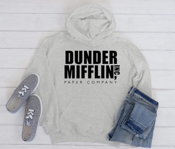 Dunder Mifflin Paper Company Cool Trending graphic Hoodie