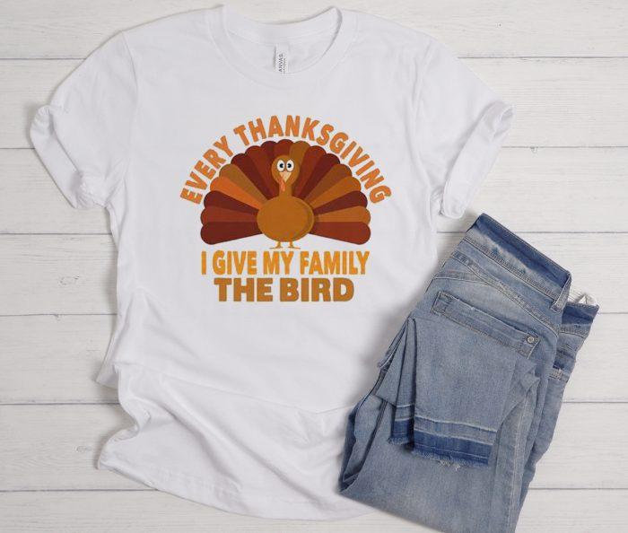 Every Thanksgiving White Cool Trending T Shirt
