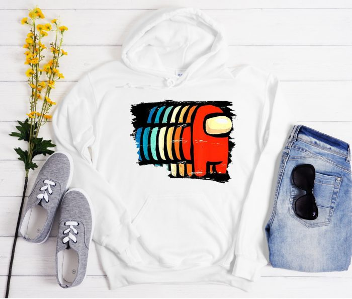 Funny Among Us Eye Cool Trending graphic Hoodie