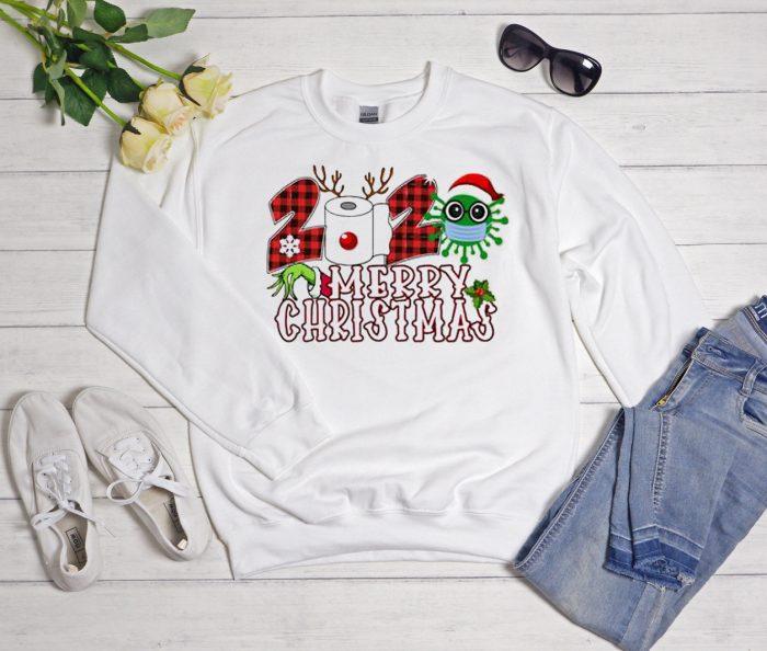 Funny Christmas Cool Trending graphic Sweatshirt