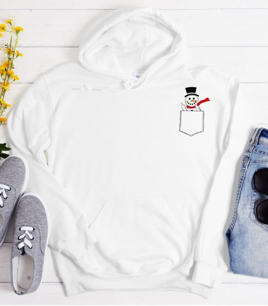 Funny Snowman Cool Trending graphic Hoodie