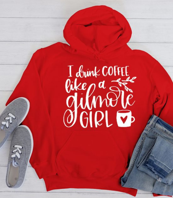 I Drink Coffee Like a Gilmore Girl Cool Trending graphic Hoodie