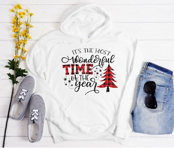 It's the MOST WONDERFUL TIME Cool Trending graphic Hoodie