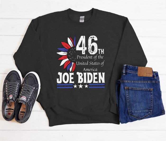 Joe Biden 46th President Cool Trending graphic Sweatshirt