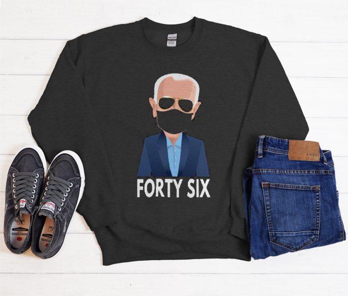 Joe Biden Forty Sixth Cool Trending graphic Sweatshirt