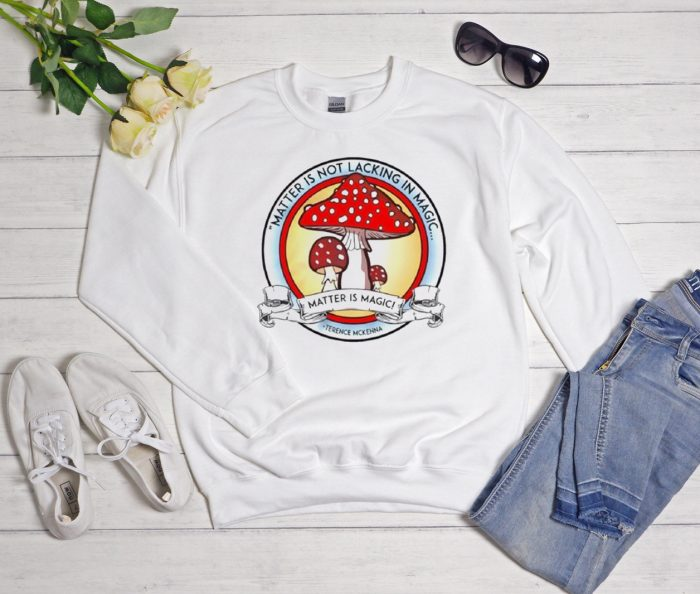 Magic Mushroom Psychedelic Acid Cool Trending graphic Sweatshirt