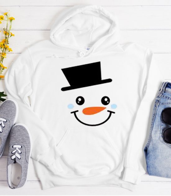 Snowman Christmas Cool Trending graphic Hoodie