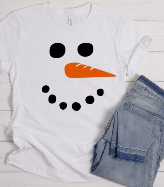 Snowman Xmas Cool Trending graphic T Shirt