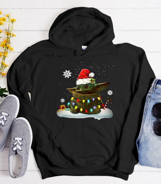 The Mandalorian Baby Yoda - Christmas Cool Trending graphic Hoodie