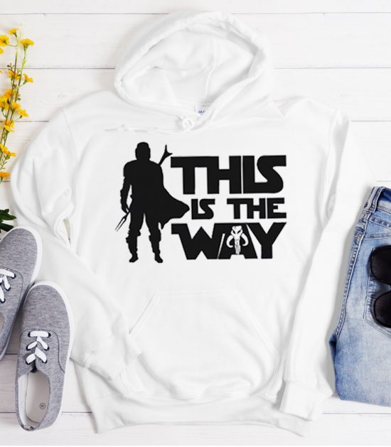 This Is The Way - Star Wars Cool Trending graphic Hoodie