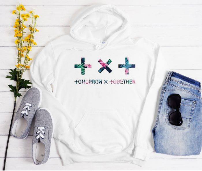 Tomorrow X Together Floral Cool Trending graphic Hoodie