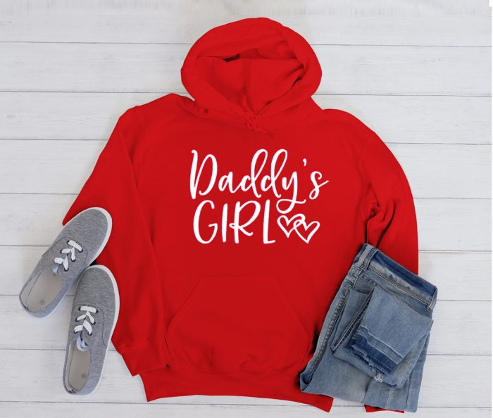 Daddy's Girl graphic Hoodie