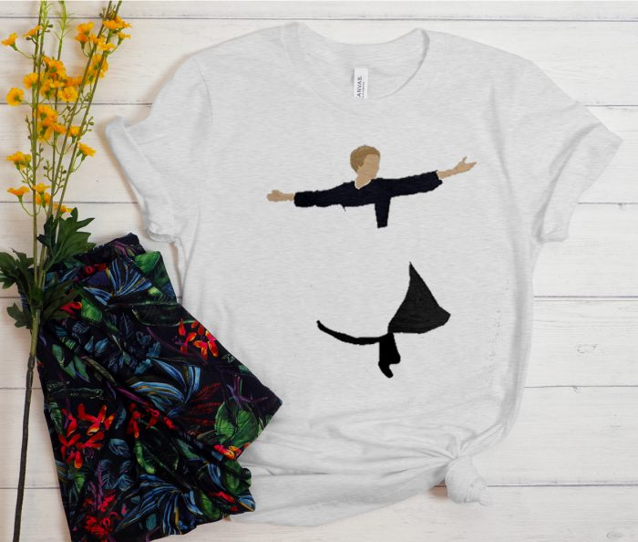 Dancing Music graphic T Shirt