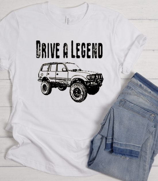 Drive A Legend with FJ80 Toyota Land Cruiser Cool Trending graphic T Shirt