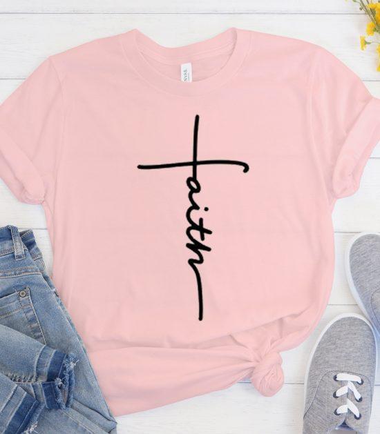 Faith - Religious graphic T Shirt