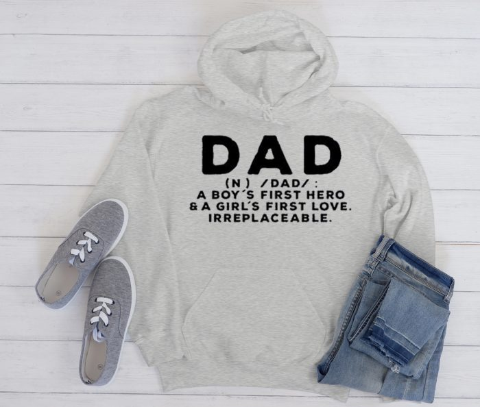 Father's Day graphic Hoodie