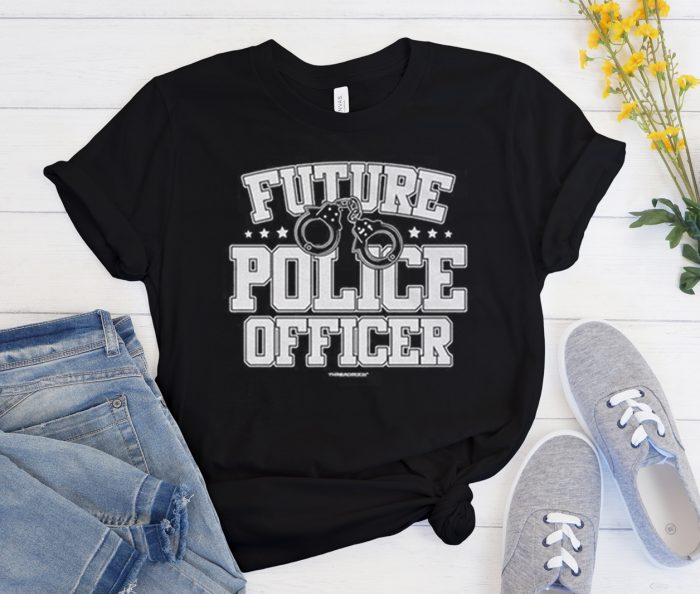 Future Police Officer graphic T Shirt