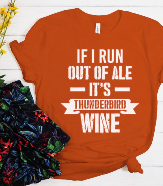 If I Run out of Ale Beastie Boys graphic T Shirt