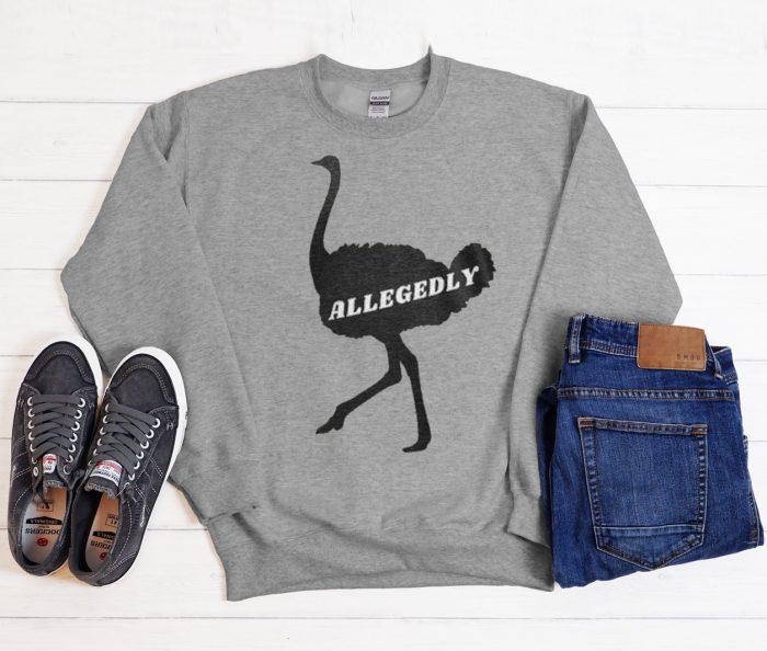 Letterkenny Allegedly graphic Sweatshirt