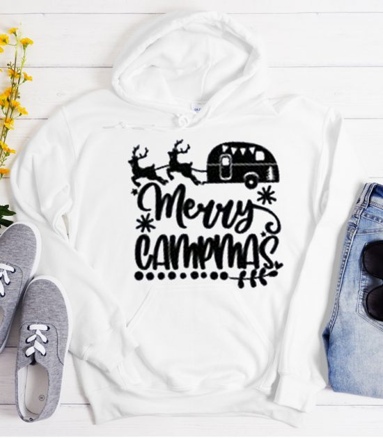 Merry Campmas Cool Trending graphic Hoodie