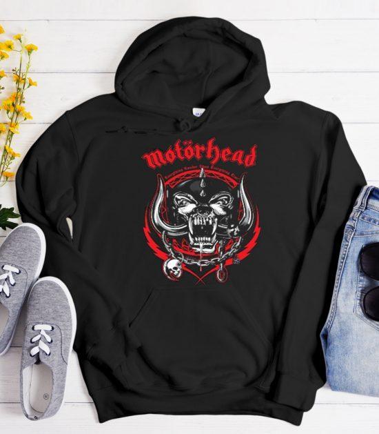 Motorhead Voltage Cool Trending graphic Hoodie