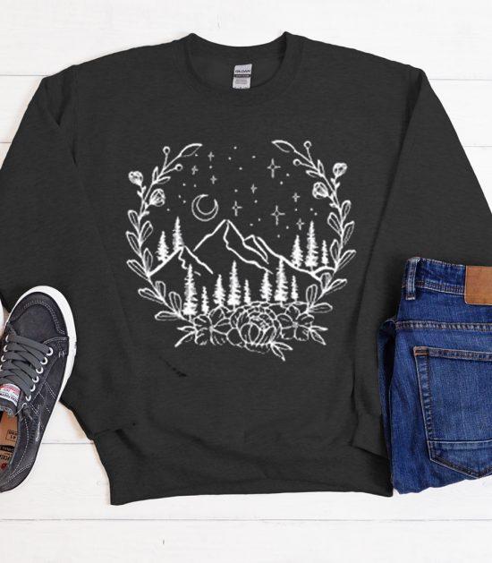 Mountain Cool Trending graphic Sweatshirt