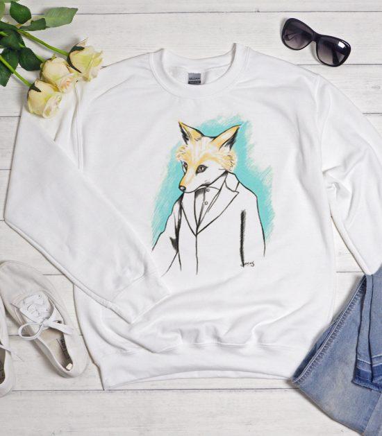 Mr. Fox Cool Trending graphic Sweatshirt