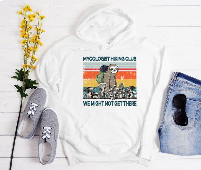Mushroom MyCologist Hiking Club graphic Hoodie