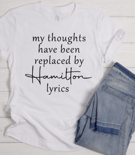 My Thoughts Have Been Replaced Cool Trending graphic T Shirt