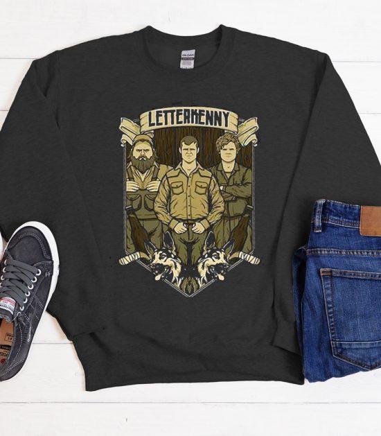 Pitter Patter Let'S Get At'Er graphic Sweatshirt