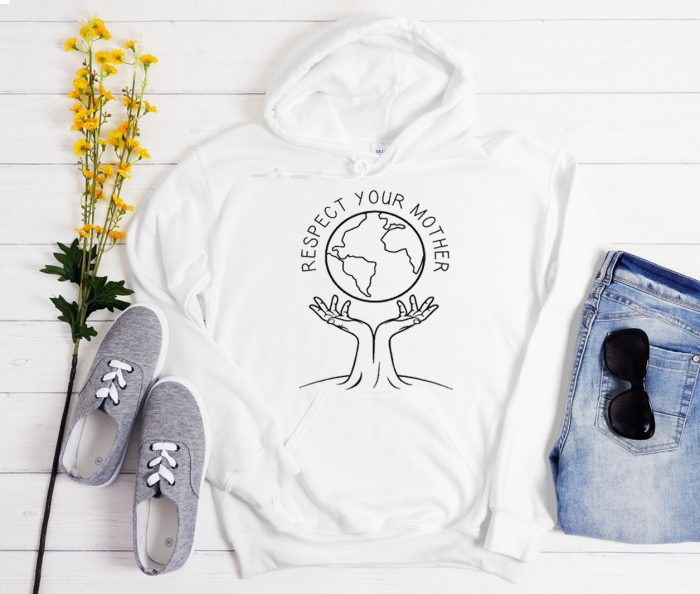 Respect Your Mother graphic Hoodie