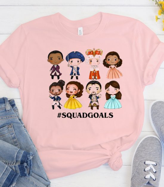 Squad Goals Hamilton Cool Trending graphic T Shirt