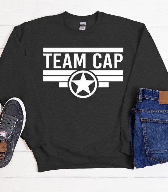 Team Captain America Cool Trending graphic Sweatshirt