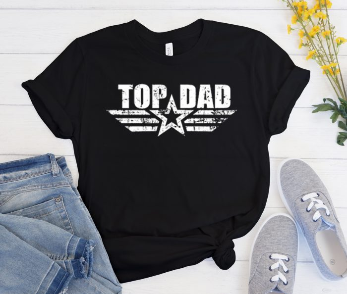 Top Dad graphic T Shirt