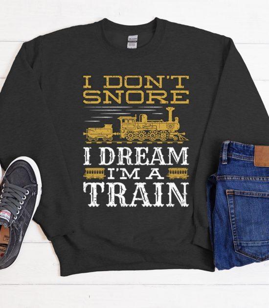 Train Cool Trending graphic Sweatshirt
