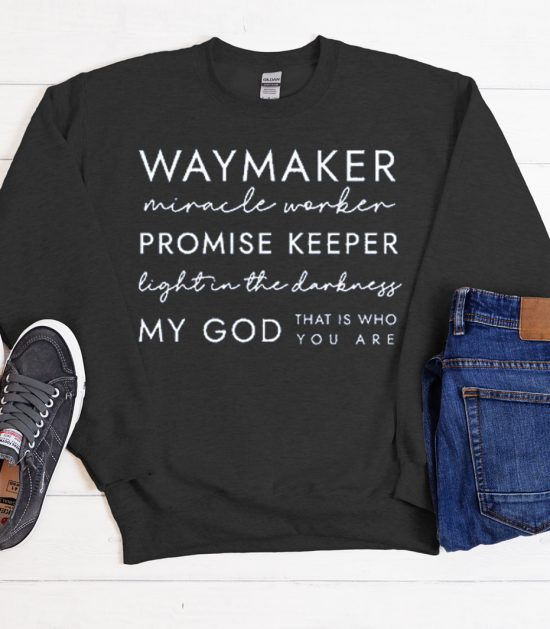Waymaker Circle Cool Trending graphic Sweatshirt