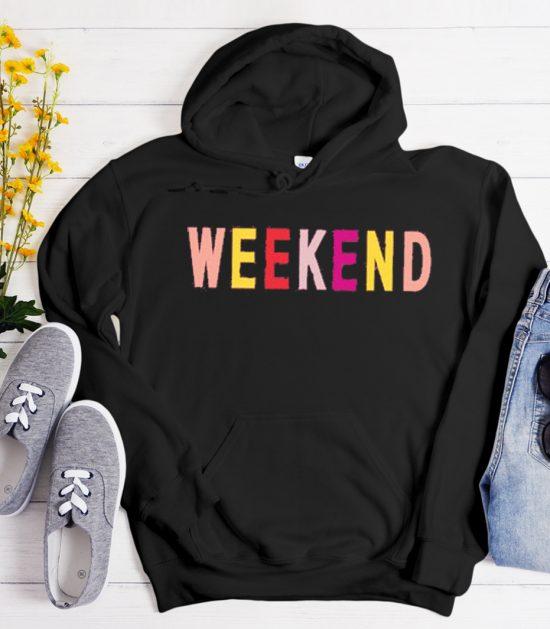 Weekend graphic Hoodie