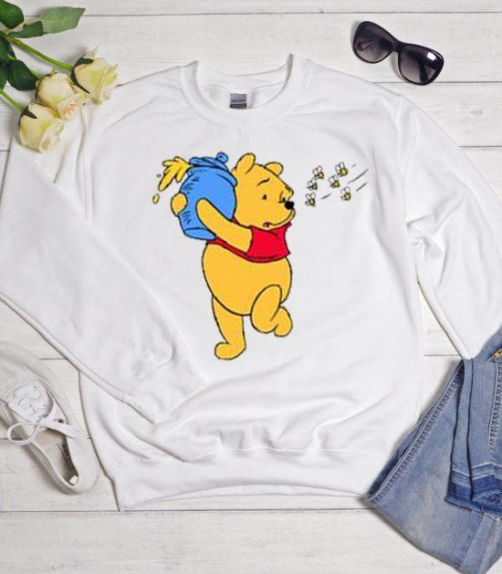 Winnie The Pooh Cartoon Cool Trending graphic Sweatshirt