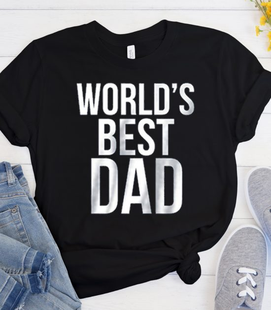 World's Best Dad graphic T Shirt