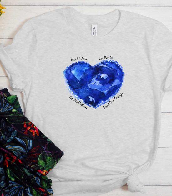 CHUNGKING EXPRESS BLUE HEART T-SHIRT